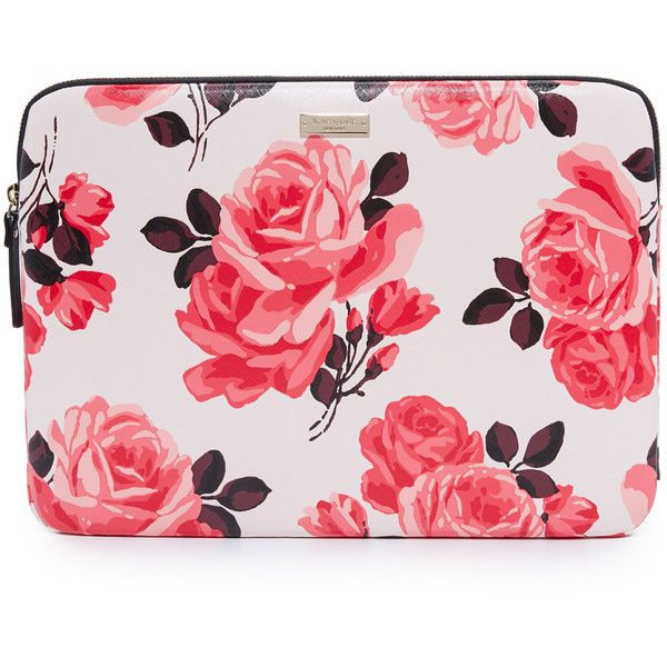 online retailer 9f722 00cee Kate Spade New York 13 Inch Rose Laptop Sleeve ($51) ❤ liked on ...