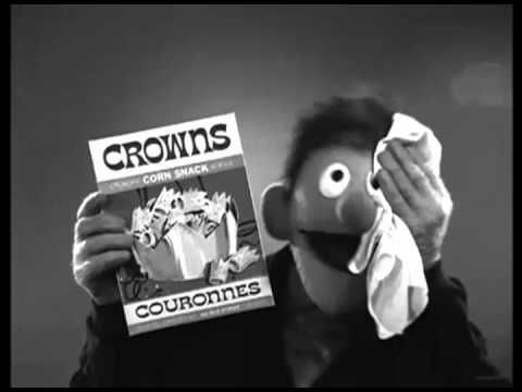 William S. Burroughs narrates a Muppets Commercial ...