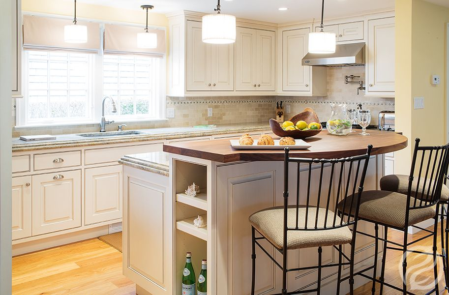 Greenfield Kitchen Cabinets Part - 17: Jackson J Door Style, Glacier Brown Glaze - Greenfield Cabinetry