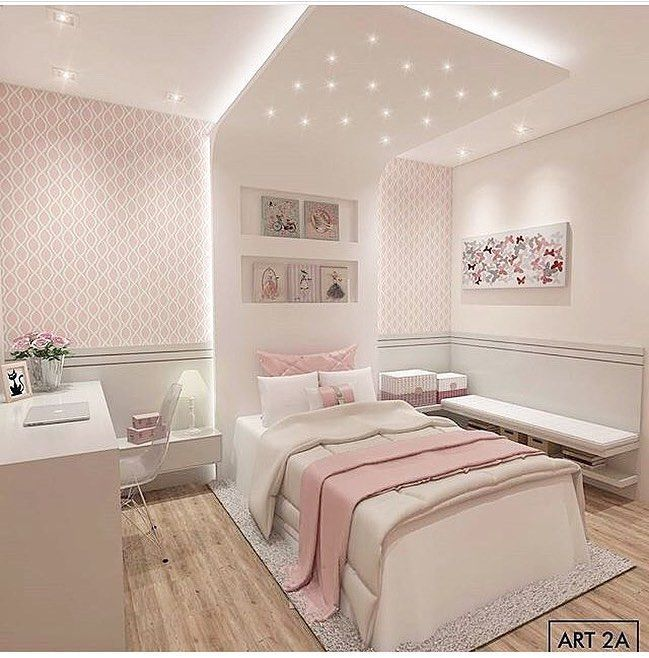 32 Dreamy Bedroom Designs For Your Little Princess: Princess Bedroom Inspirations