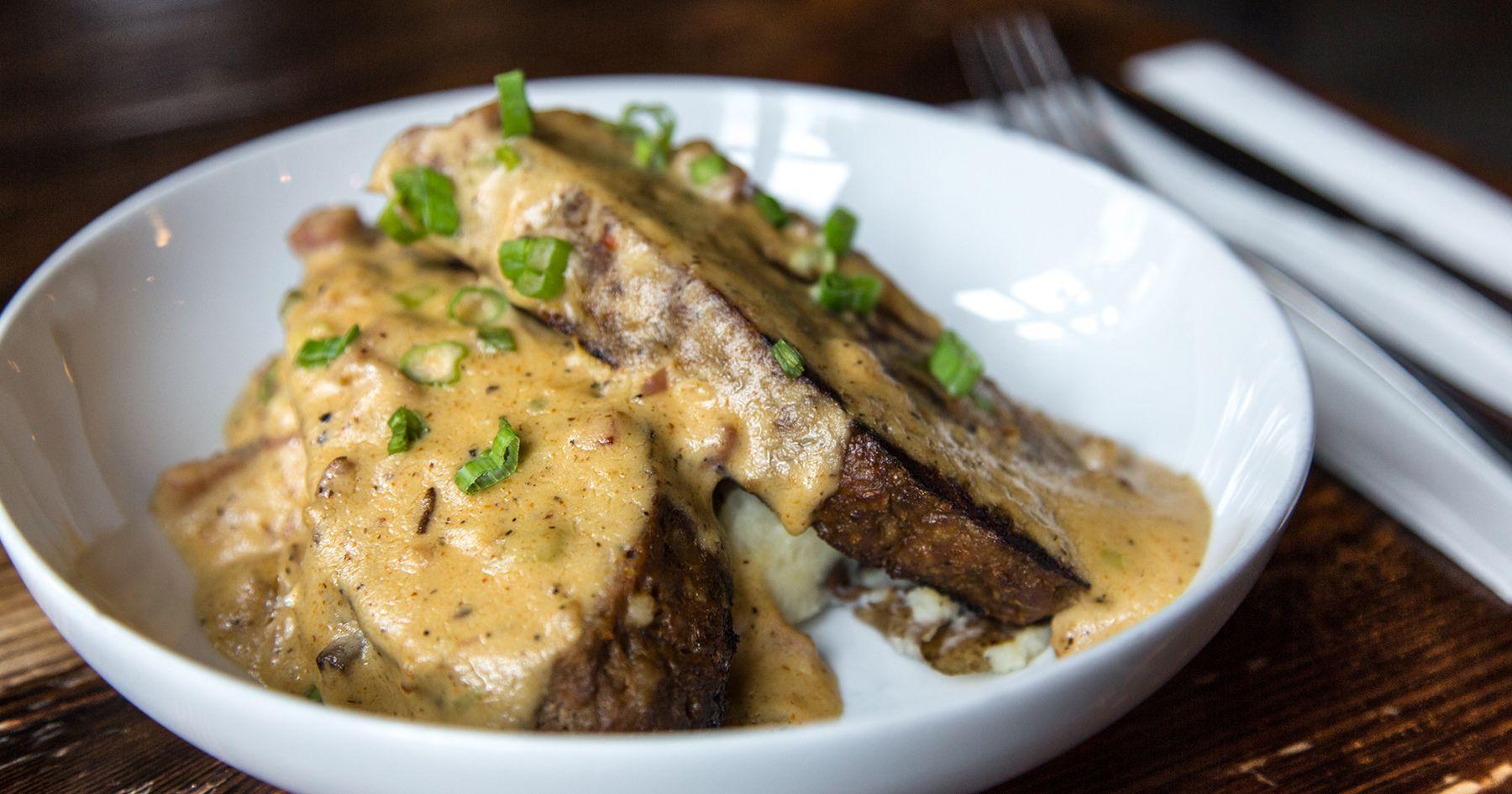 Photo of Meatloaf with Tasso Ham Gravy