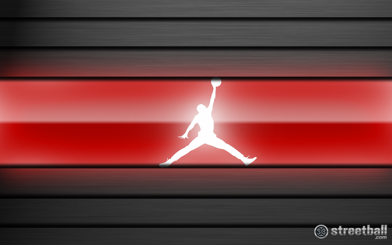 Jumpman Jumpman Red Basketball Wallpaper Streetball