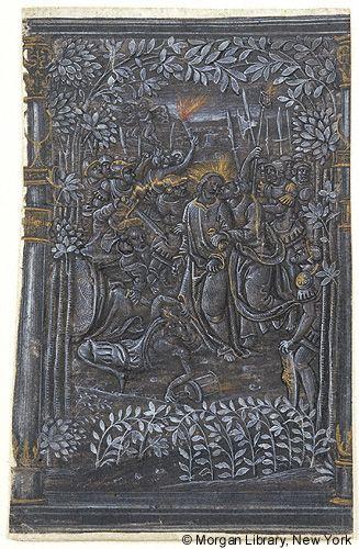 Poème Sur La Passion Ms M1116r Images From Medieval And