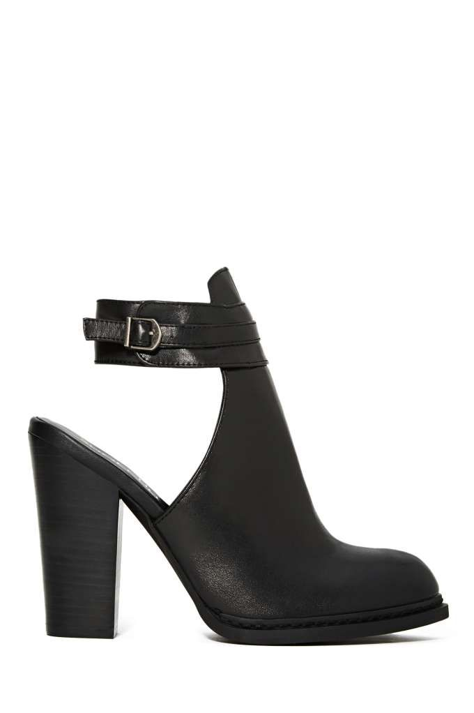 Shoe Cult Montana Bootie - Black | Shop Booties at Nasty Gal