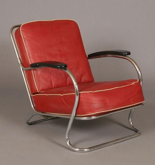 Wolfgang Hoffman S Chair Industrial Design Art Deco