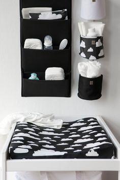 Auch schwarz kann toll im Babyzimmer aussehen baby room ideas