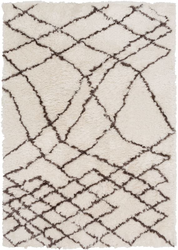 Surya Sco3003 810 Scout 8 X 10 Rectangle Polyester Hand Tufted Trellis Area Ru Cream Rugs Area Rugs Area Rugs Brown Area Rugs Rugs