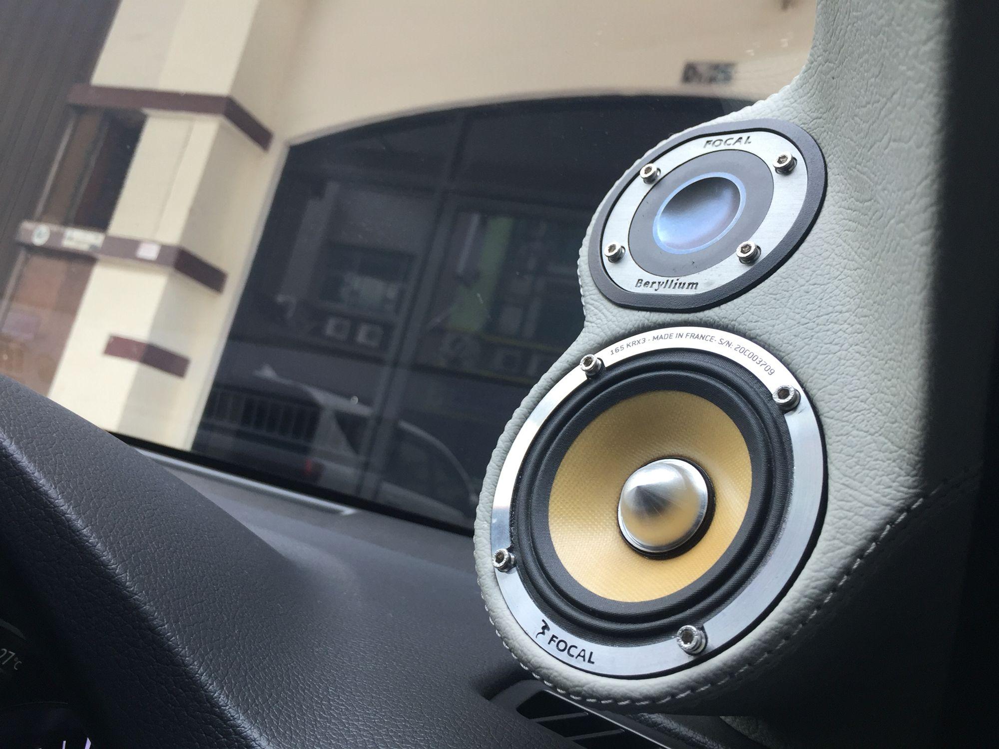Audiomobil Focal Be Krx3midrange Www Cartens Audio Com Car Audio Installation Car Audio Car Audio Systems