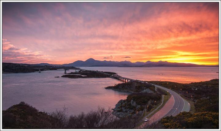 Skye Bridge from Am Ploc - Isle of Skye