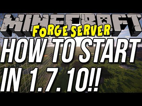 How To Start A Forge Server In Minecraft Http - Minecraft realms server erstellen