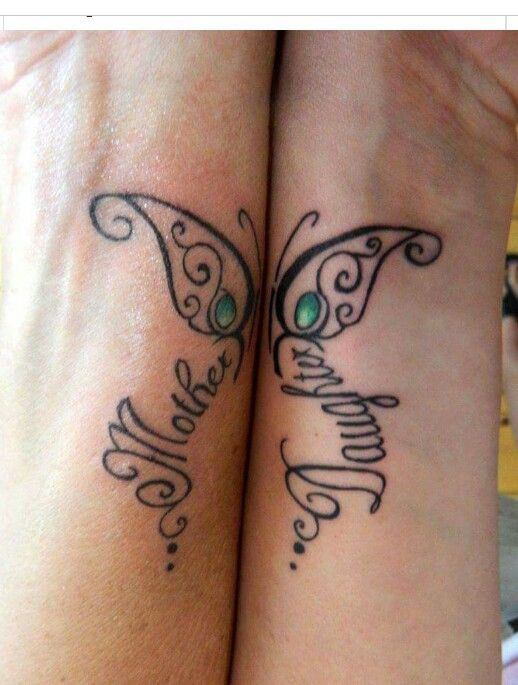 mother daughter tattoo mother daughter tattoo. Black Bedroom Furniture Sets. Home Design Ideas