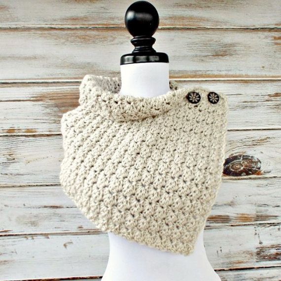Instant Download Crochet PATTERN PDF Crochet Cowl by pixiebell ...