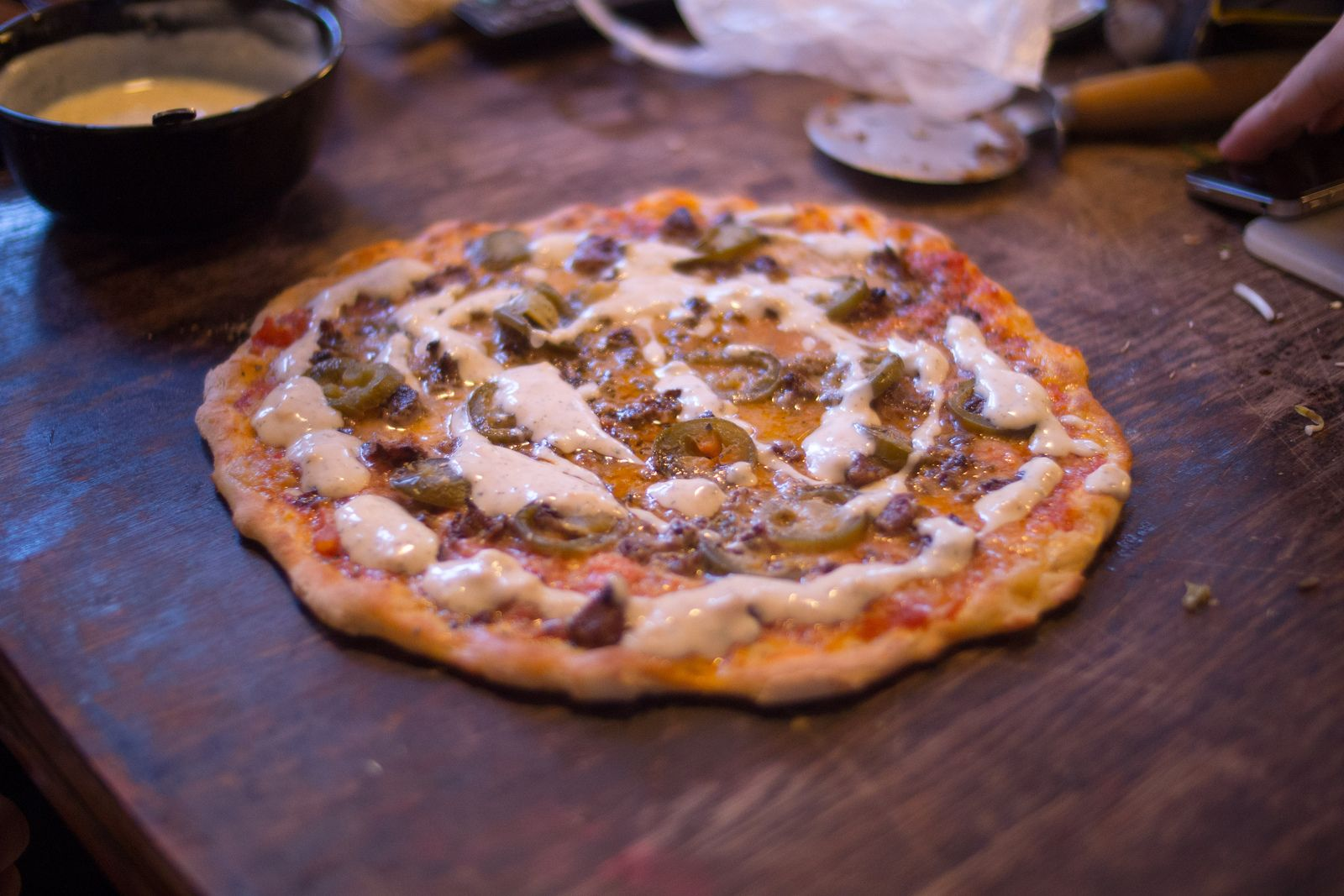 recept pizza shoarma