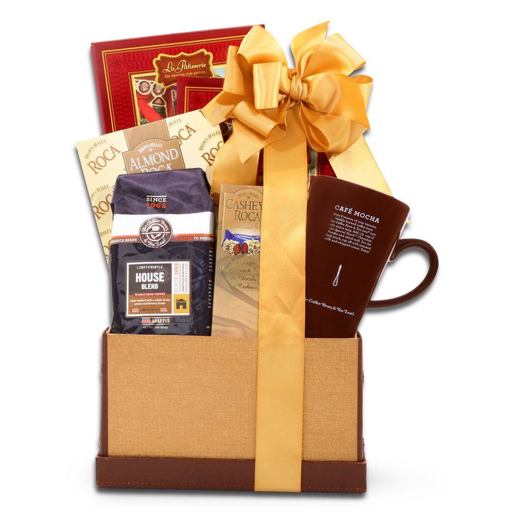 alder creek gift baskets coffee bean and tea leaf gifts