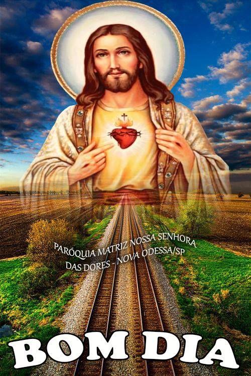 Imagens de Bom Dia Com Jesus flor