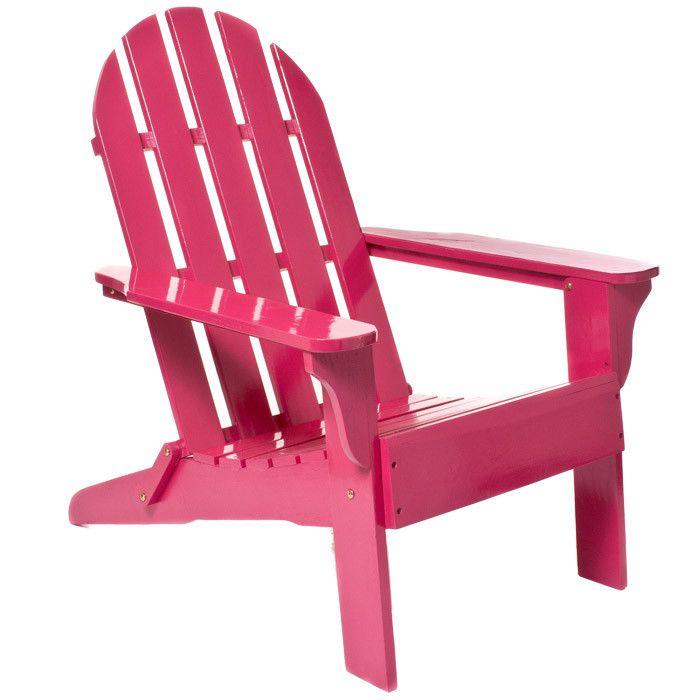 decorative folding chairs.htm adirondack chair in fuchsia decora    o  cabana  adirondack chair in fuchsia decora    o