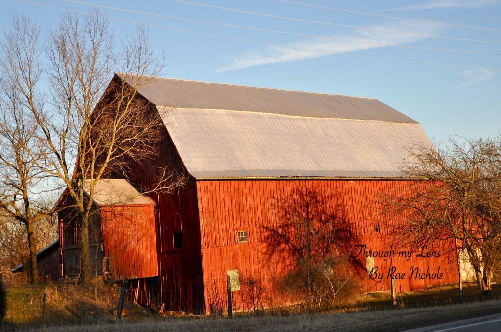 Red barn... Ohio