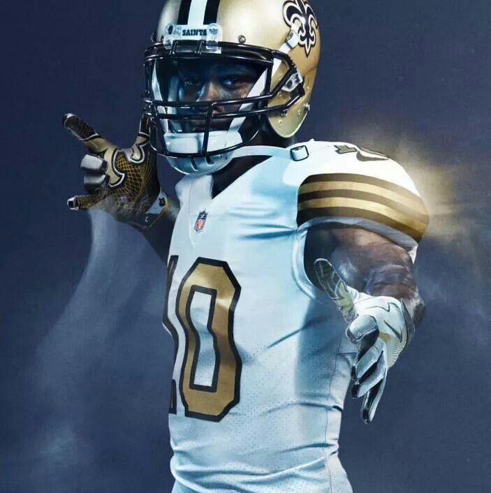 22769feb Saints Brandin Cooks Color Rush Uniforms. #WhoDat #WhoDatNation ...