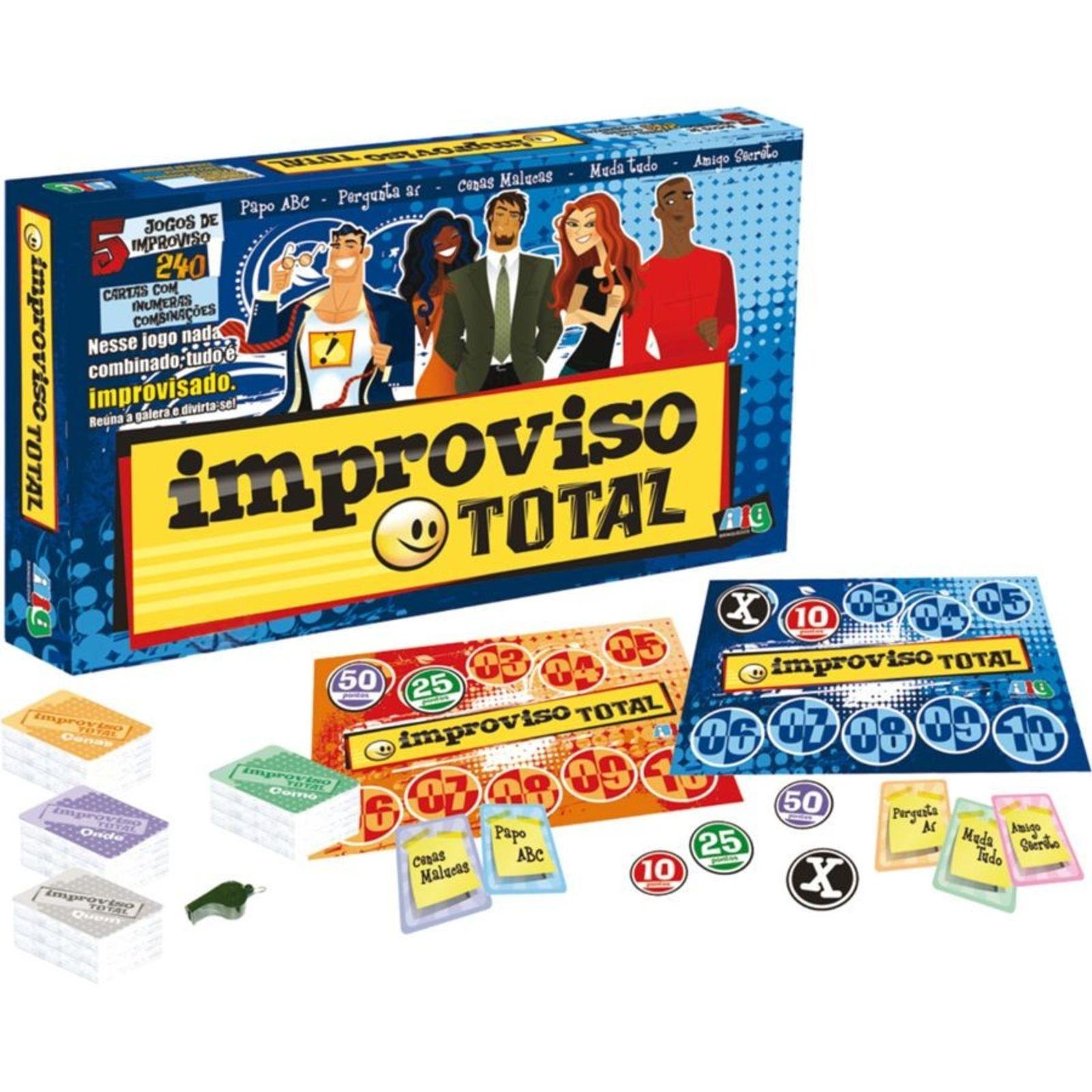 Jogo Nig Brinquedos Improviso Total Multicolorido Em 2021 Jogos Divertidos Para Criancas Jogos Jogos De Tabuleiro Para Criancas