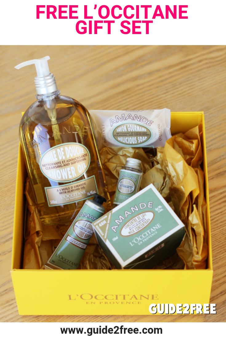 Get A FREE LOccitane Gift Set Your Indulgent Free Awaits Redeem It At Local Boutique With No Purchase Necessary Or Online
