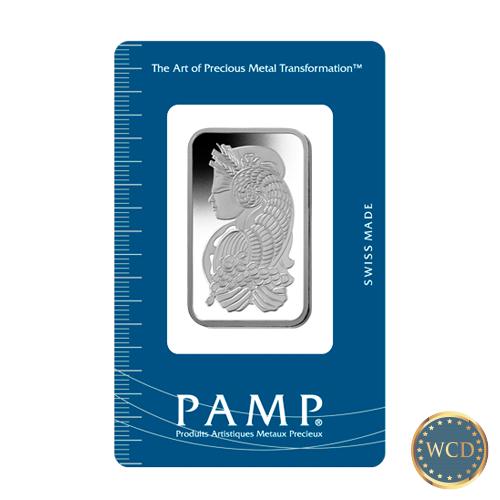 Pamp Suisse Fortuna 1 Oz Platinum Bar Silver Bars Fortuna Buying Gold