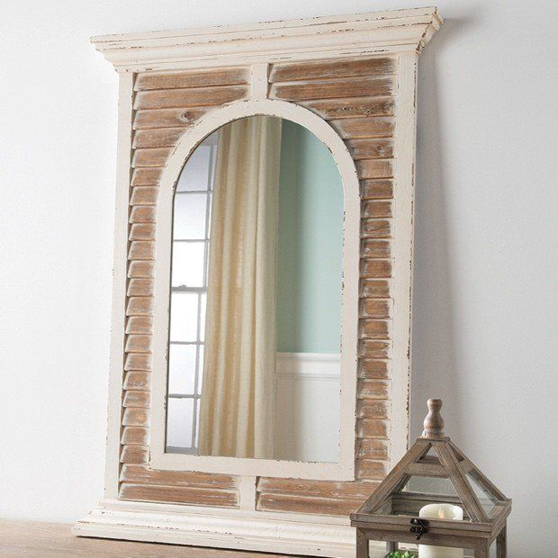 large framed mirror with distressed slats large framed mirrors and