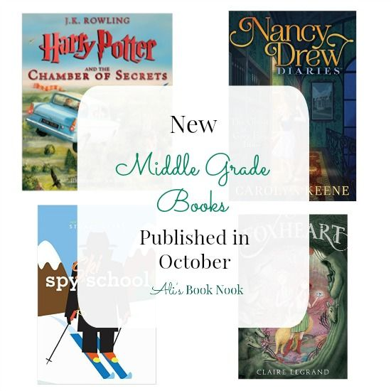 New Middle Grade Books Published In October 8 Great Books Your 8