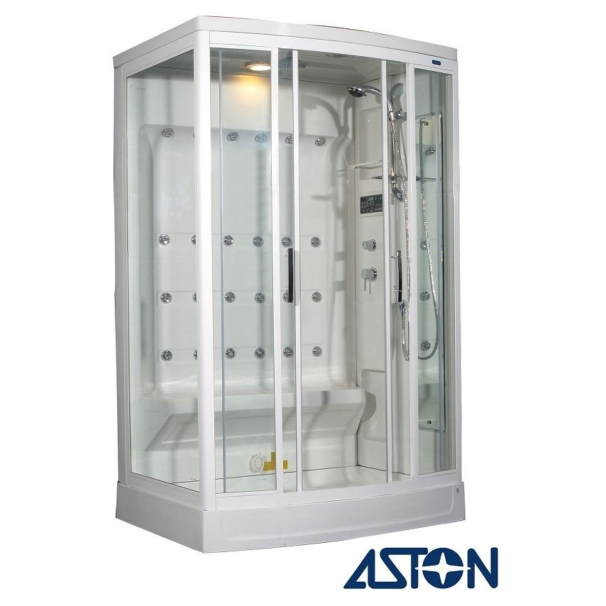 Take Showering To A New Level With This 24 Jet Steam Shower. Packed With