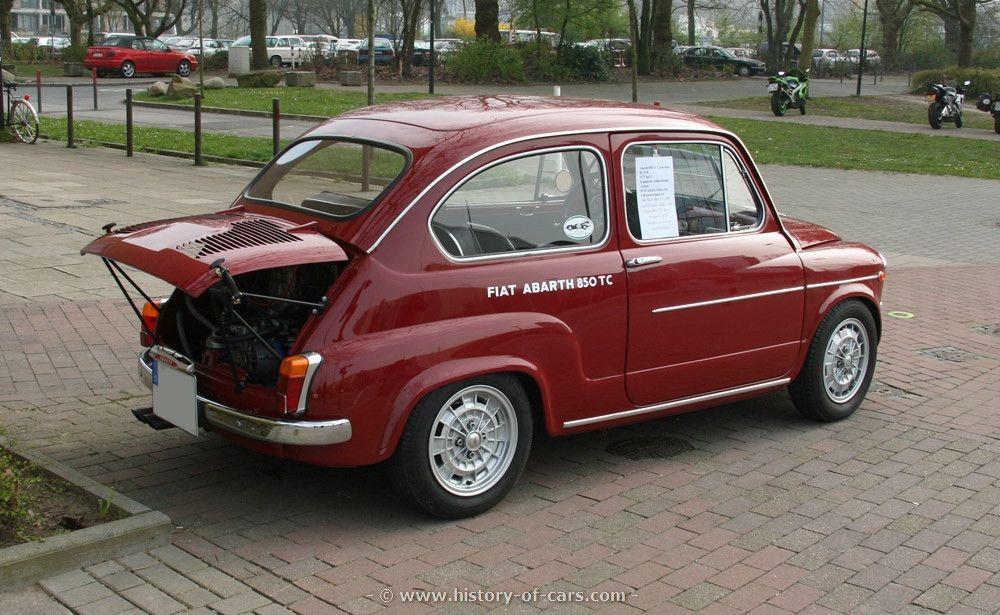 Risultati Immagini Per Fiat Abarth 850 Tc Replica Immagini Motori
