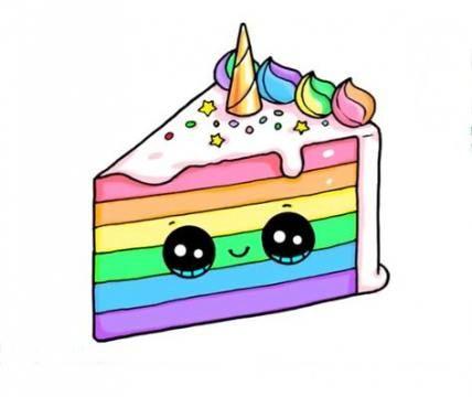 Birthday Cake Drawing 34 Ideas Drawing Cake Birthday Dibujos