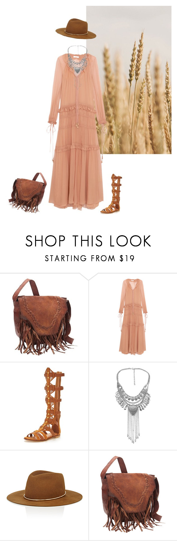 """""""Adventures are forever"""" by minorseventh ❤ liked on Polyvore featuring Chloé, KG Kurt Geiger, Janessa Leone and SHARO"""