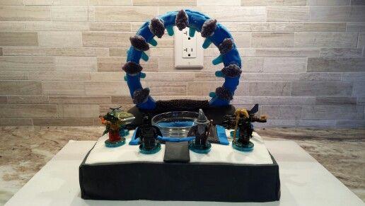 Lego Dimensions Portal Cake Anniversaire Gateau Anniversaire