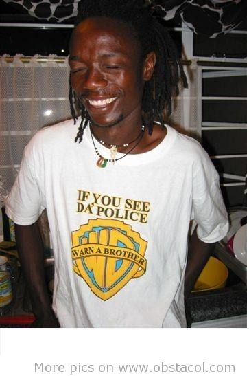 if you see da` police warn a brother