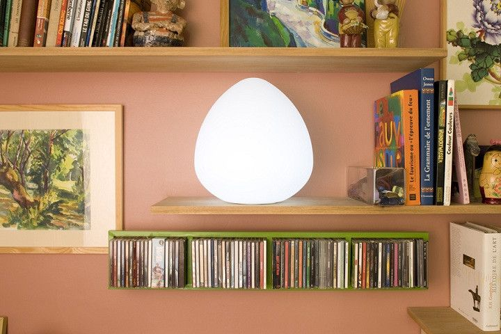 Rock LED Cordless Lamp by Smart & Green Unplugged and