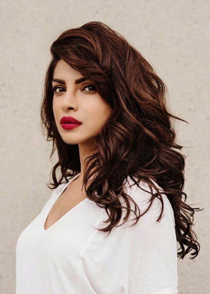 Priyanka Chopra Hair Colour Priyanka Chopra Hair Hair Highlights Hair Beauty