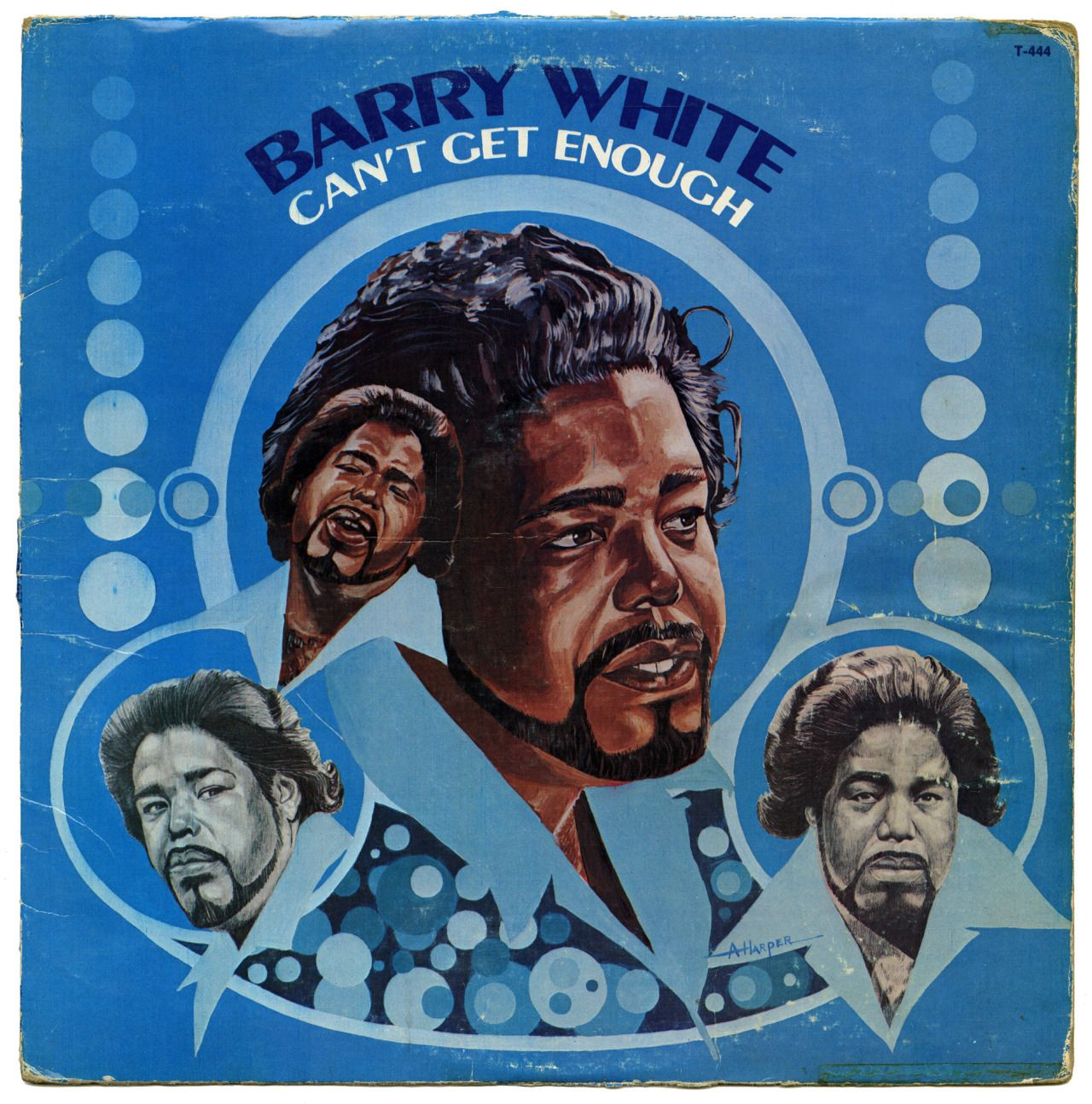 Can T Get Enoughbarry White 20th Century Records Usa 1974 With