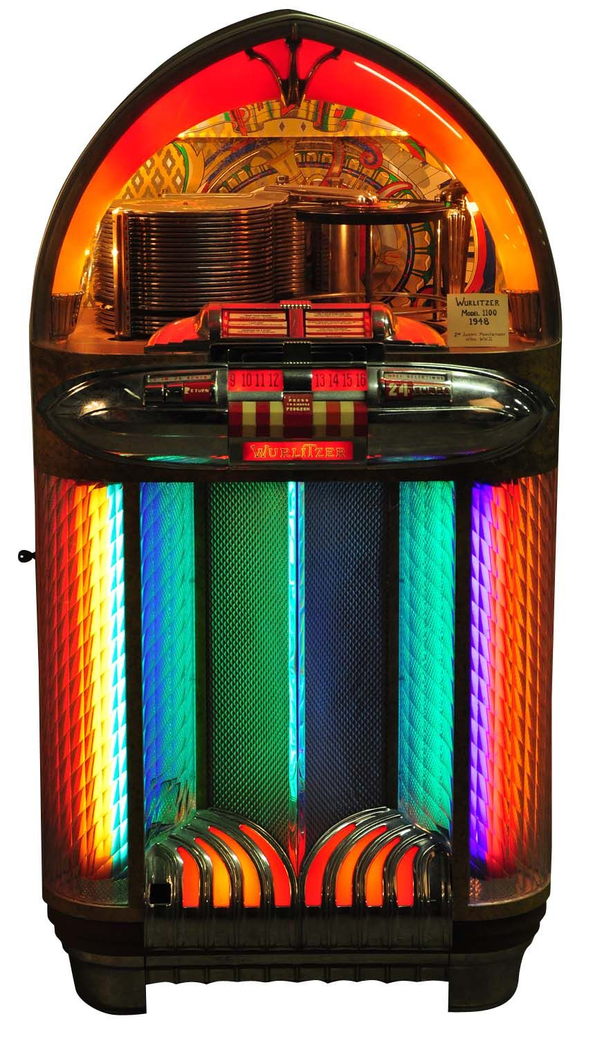 Vintage Wurlitzer Jukebox Wurlitzer model 1100 jukebox | Jukeboxes