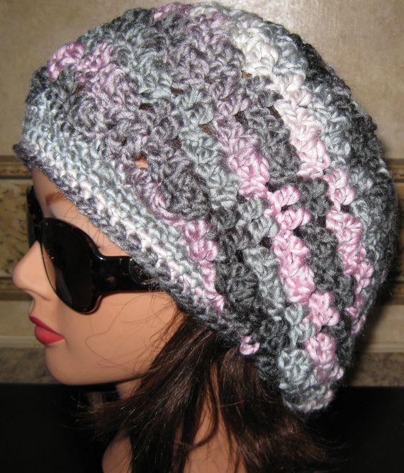 Slouchy Crochet Hat | Crochet - Hats | Pinterest | Häkelmützenmuster ...