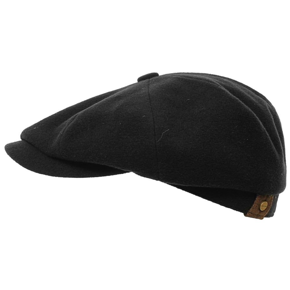 551a9ed10 Stetson Hats Stetson Wool Black Newsboy Cap 6840101 32 in 2019 ...