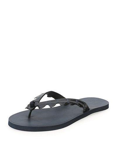 bfcab60327c1 Bottega+Veneta+Crocodile+Flip+Flop+Sandals+