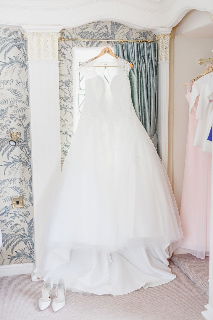 Pink and Navy Blue Wedding | fabmood.com #wedding #weddingdress