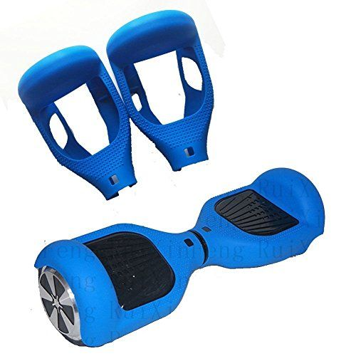"""6.5/"""" Silicone 2 Wheels Self Balancing Hover Board Case Scooter Cover Flexible"""