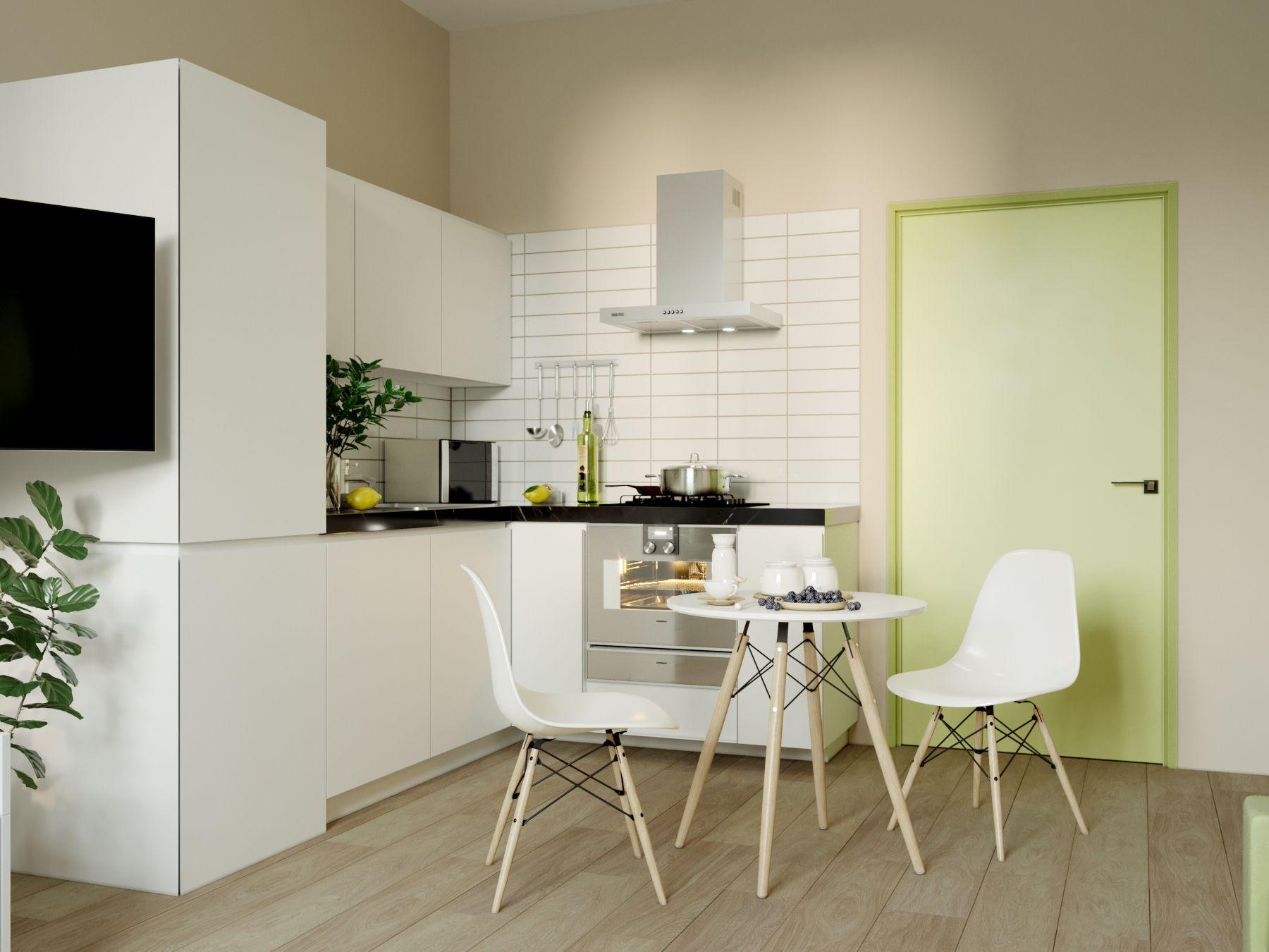 #Designbureaudesense #Saintpetersburg #Medicalcenter #Ward #Colours #Green #White #Light