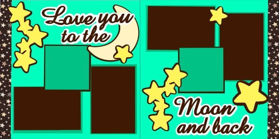 Love you to the moon and back do it yourself scrapbook pagekit free love you to the moon and back do it yourself scrapbook pagekit free ship tocg solutioingenieria Image collections