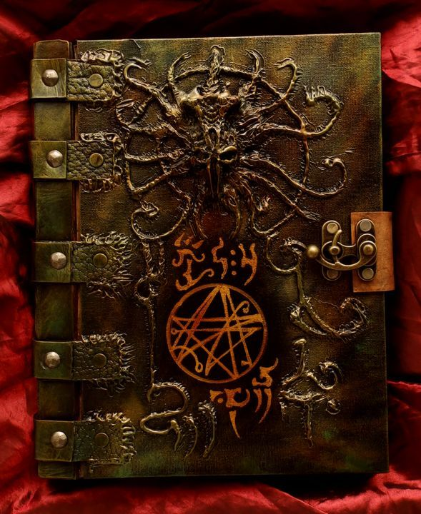 Image result for necronomicon book cover art