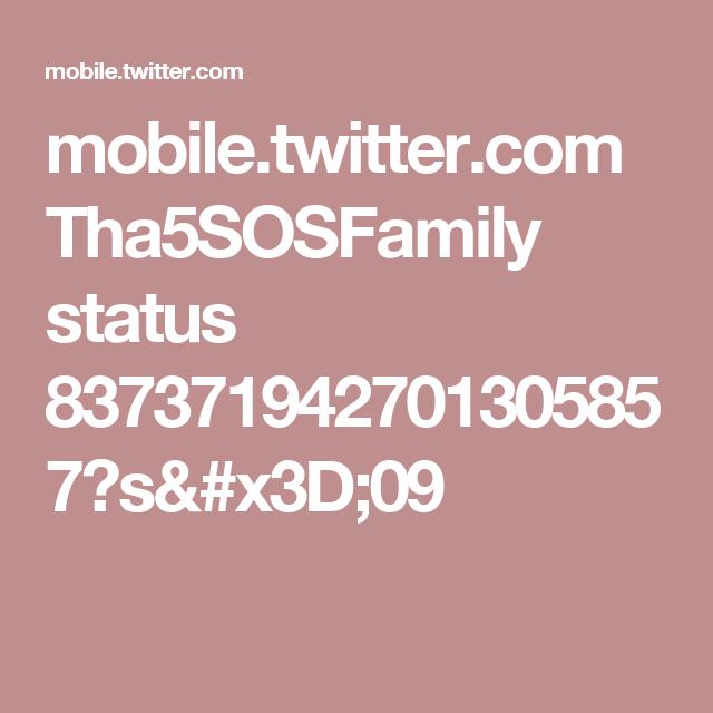 mobile.twitter.com Tha5SOSFamily status 837371942701305857?s=09