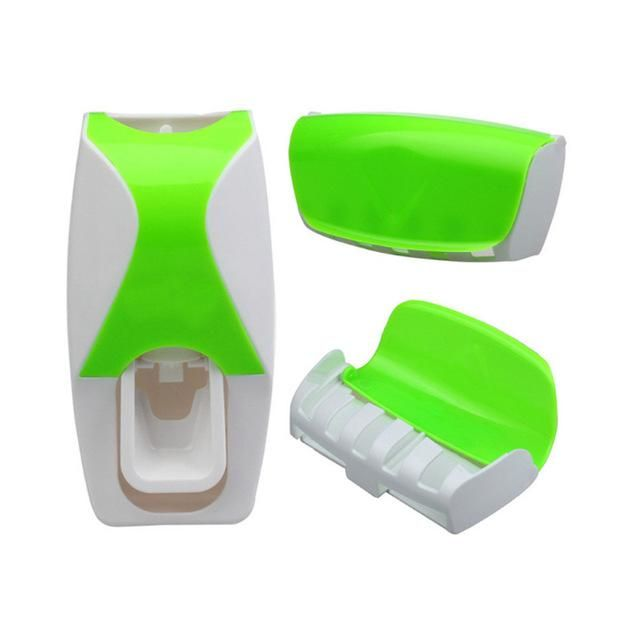 Fashion Home Bathroom Automatic Toothpaste Dispenser 5 Position ...