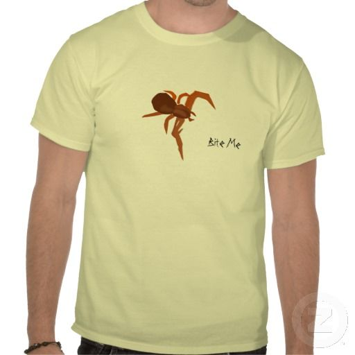 Thank you R. Milford, PA USA for getting the Red Spider, Bite Me Tee Shirt! :)