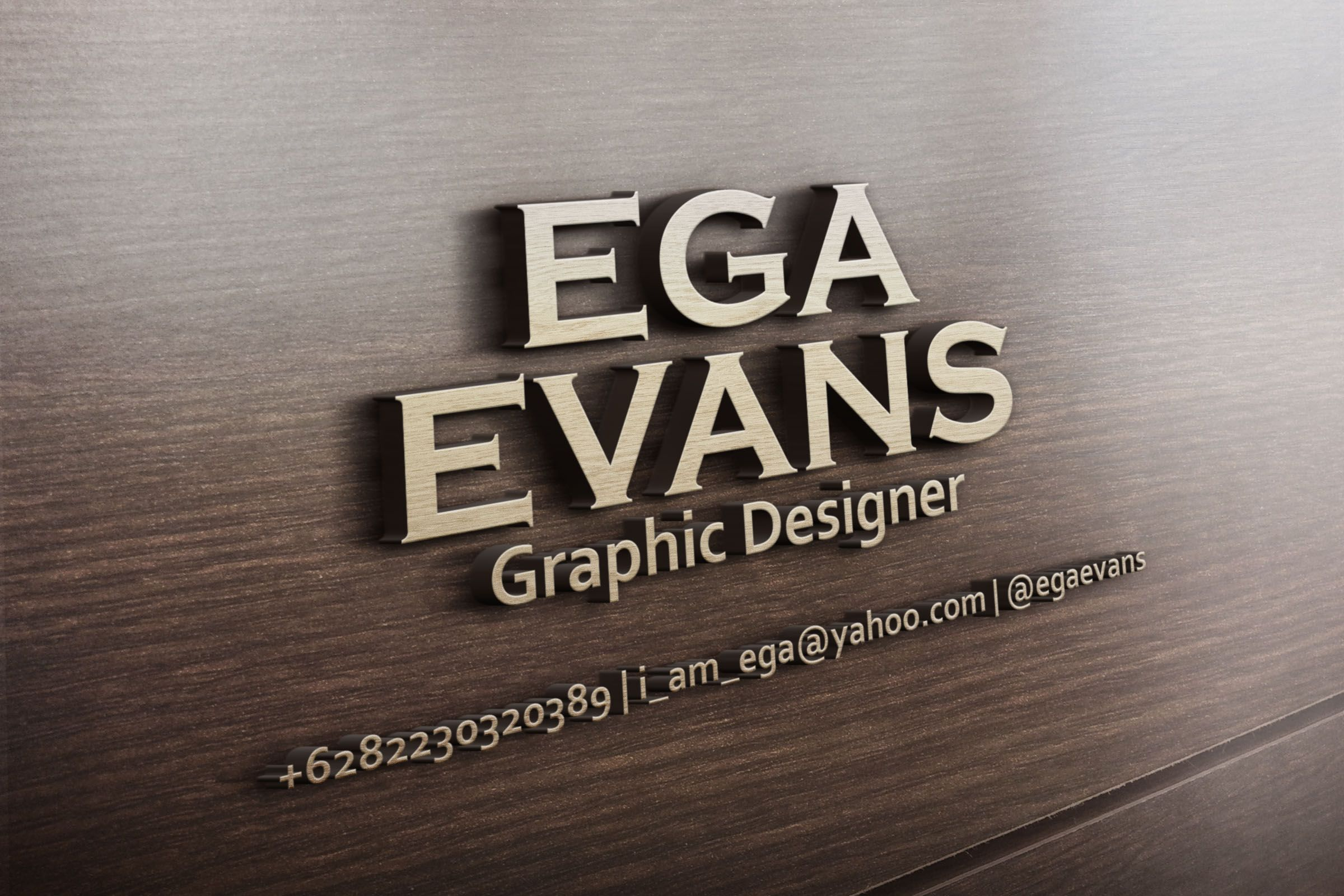 Create Your 2 Name,logo, Or Your Text Into 3d Wooden Design