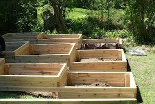 Terraced Planter Bo Raised Garden Bedsraised